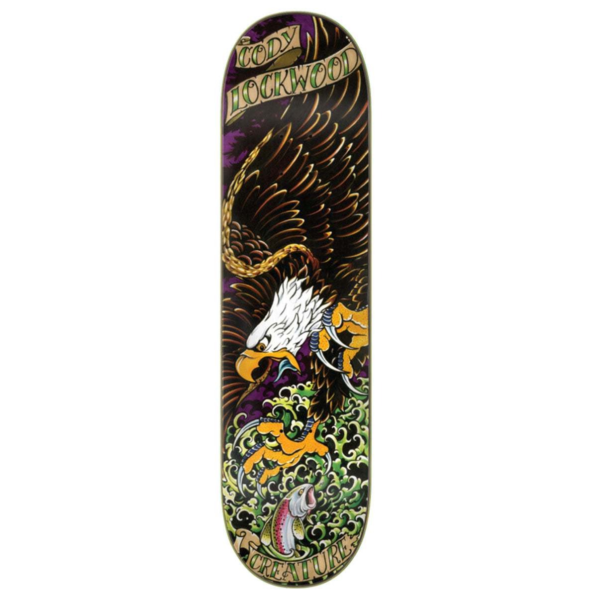 Creature Deck - Cody Lockwood Beast of Prey 8.25"