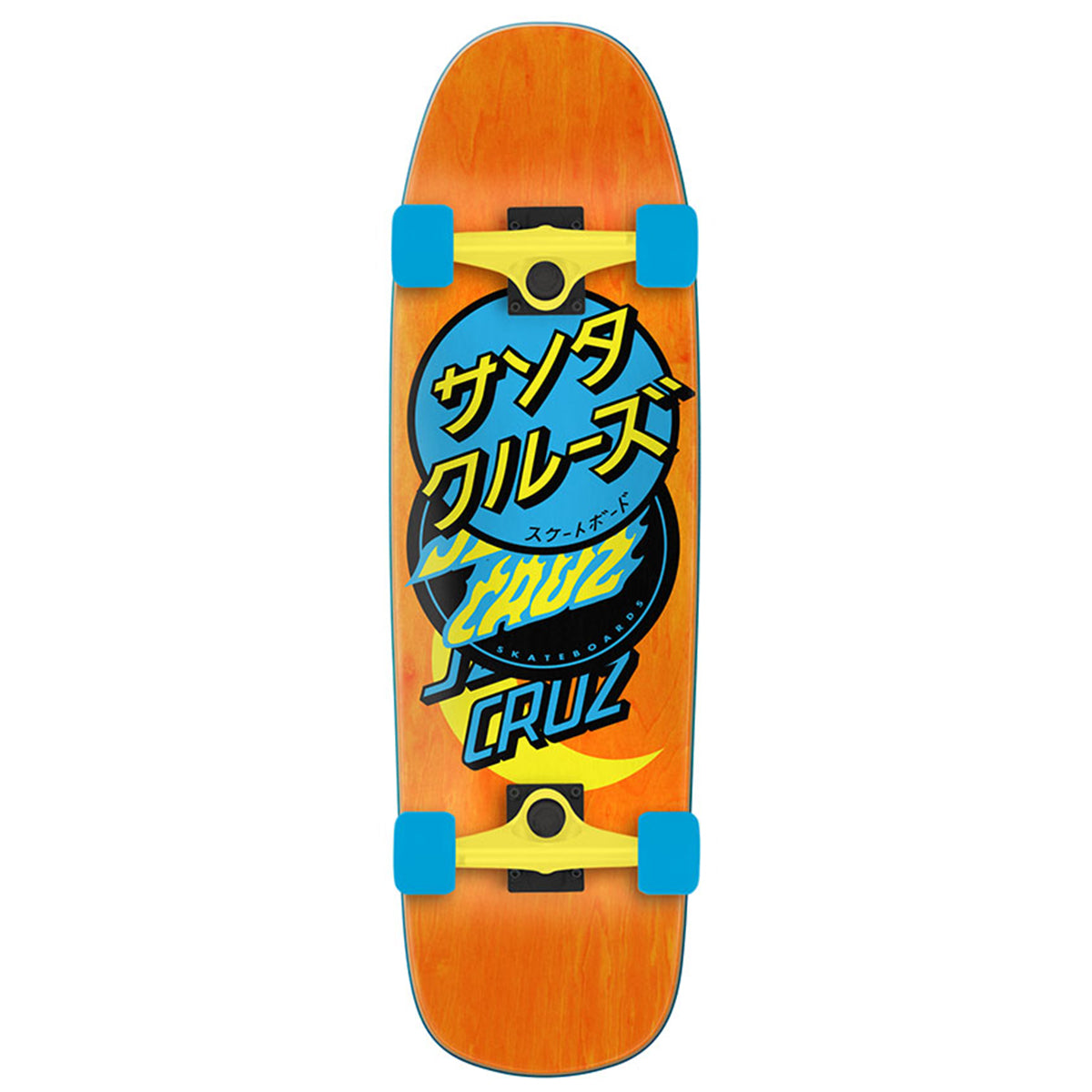 Santa Cruz 80's Cruiser - Group Dot | Underground Skate Shop
