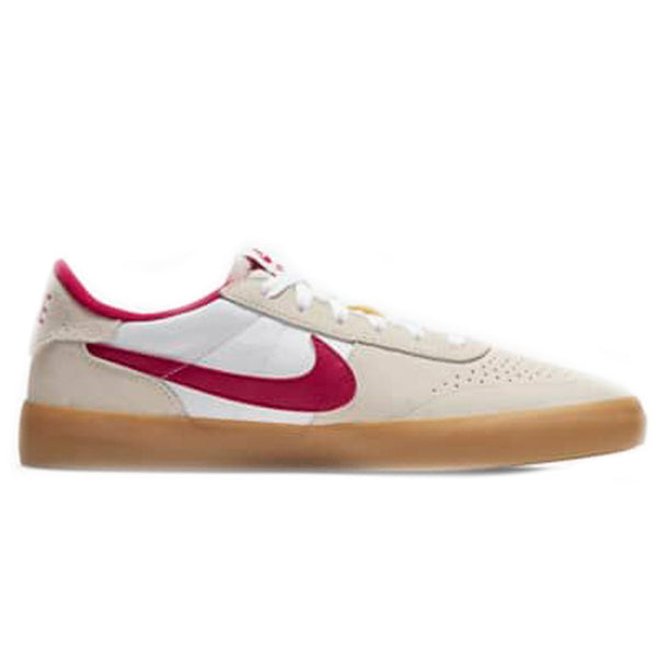 Nike SB Heritage Vulc - Summit White/Red CD5010-100 | Underground Skate Shop