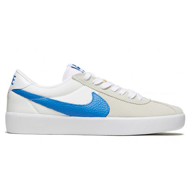 Nike SB Bruin React - Summit White/Signal Blue CJ1661-100 | Underground Skate Shop