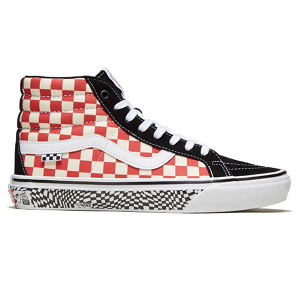 Vans Sk8-Hi Pro - Jeff Grosso 84' Red/Black | Underground Skate Shop