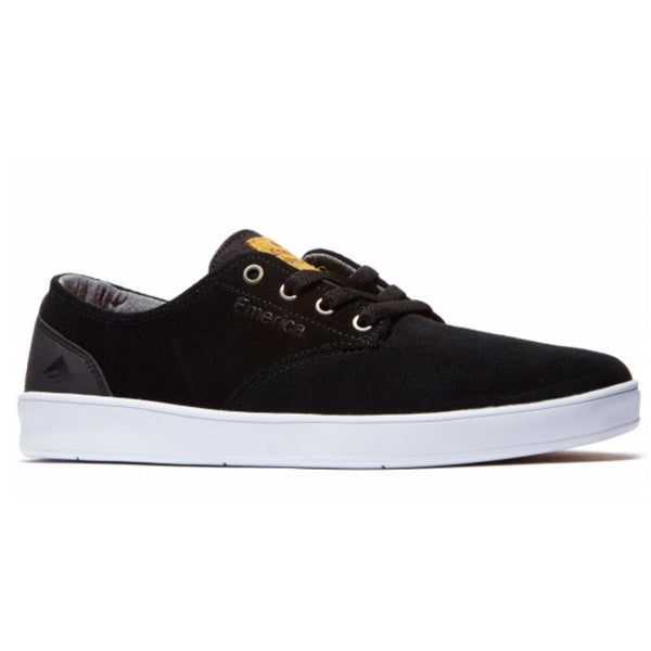 Emerica Romero Laced - Black/Black/White | Underground Skate Shop