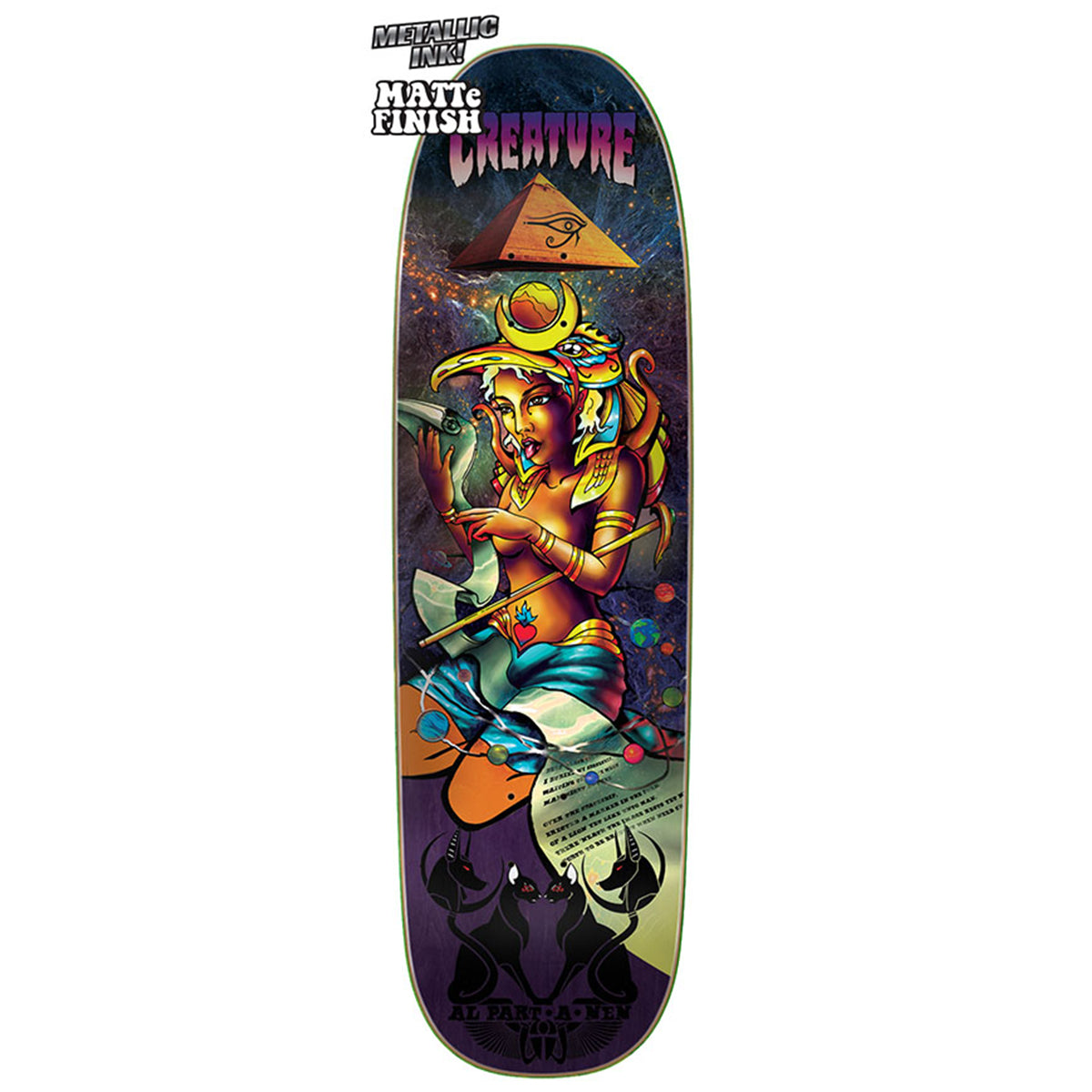 Creature Deck - Al Partanen Emerald Tablet, Undergound Skate Shop