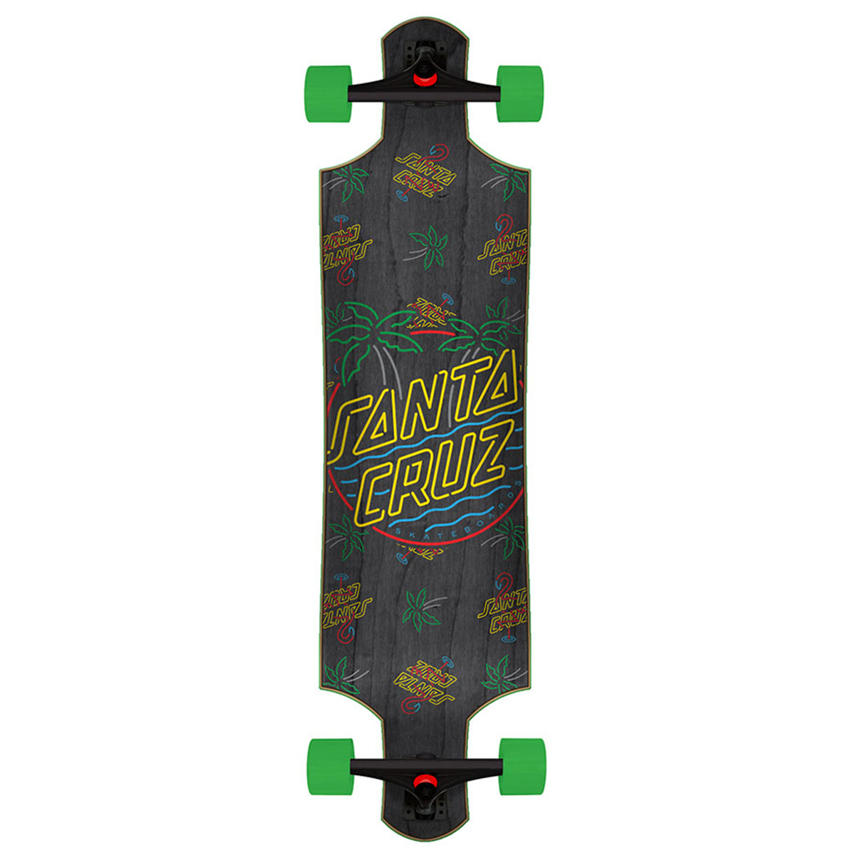 Santa Cruz Longboard - Glow Dot Drop Down | Underground Skate Shop