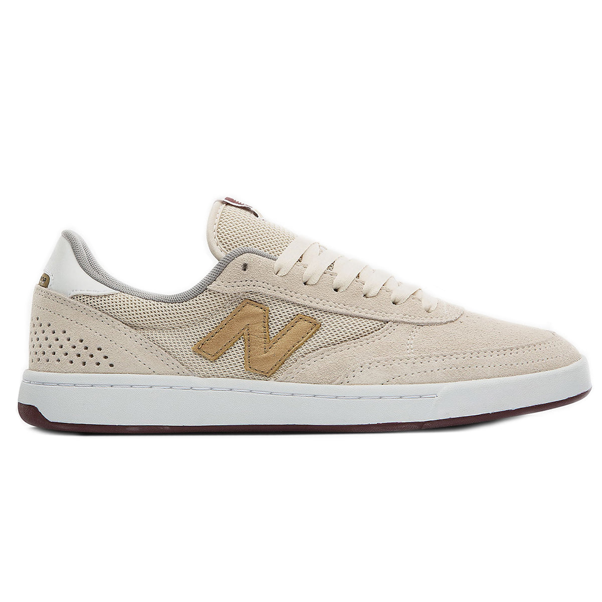 New Balance 440 - Bone/Gold/Burgundy | Underground Skate Shop