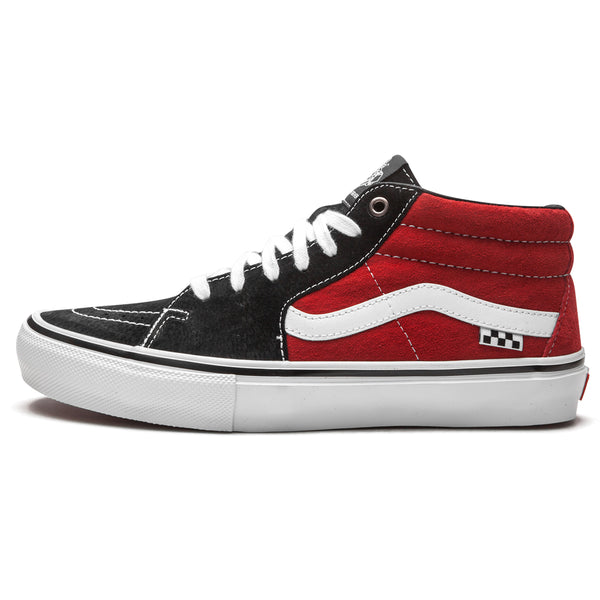 Vans Sk8-Mid Pro - Jeff Grosso Red/Black | Underground Skate Shop
