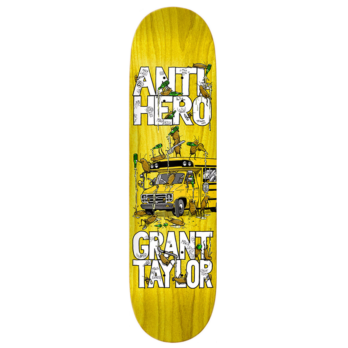 Anti-Hero Deck - Grant Taylor Maka Bus | Underground Skate Shop
