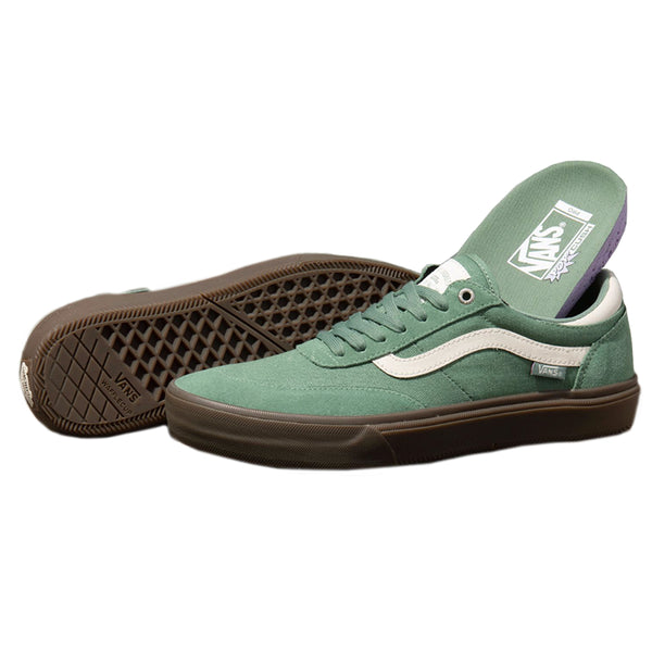 Vans Crockett 2 Pro - Hedge Green / Dark Gum | Underground Skate Shop