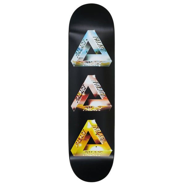 Palace Deck - Chrome Tri-Ferg 8.12"