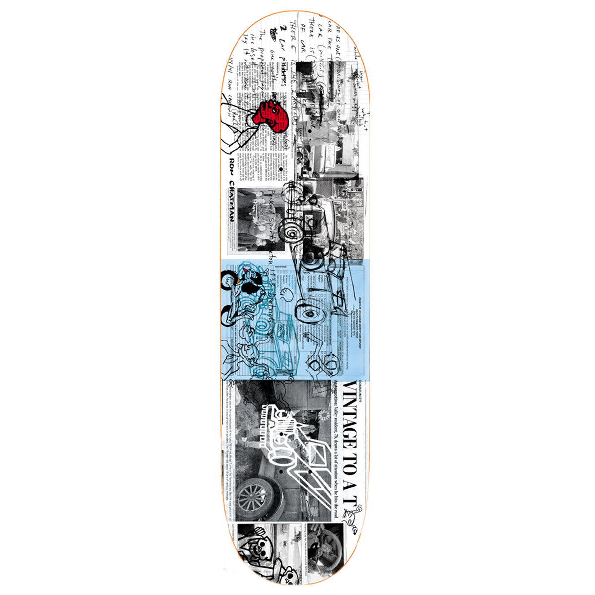 Polar Deck - Ron Chatman Model T, Underground Skate Shop