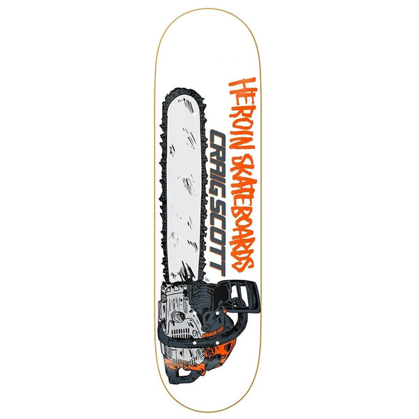 Heroin Deck - Craig Scott Chainsaw | Underground Skate Shop