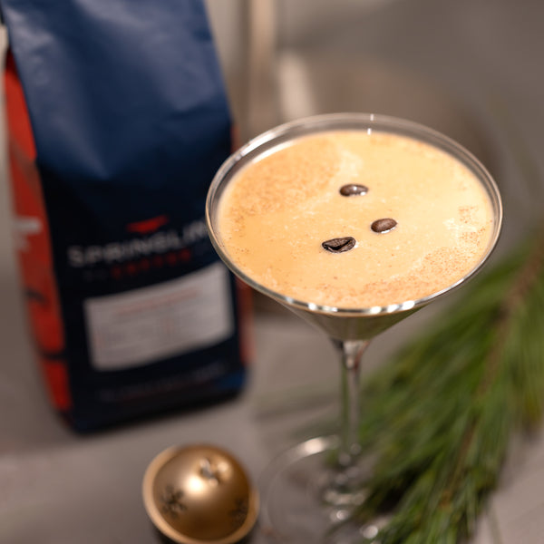 NautiCoffee Cocktail Series: Yuletide Eggnog Martini