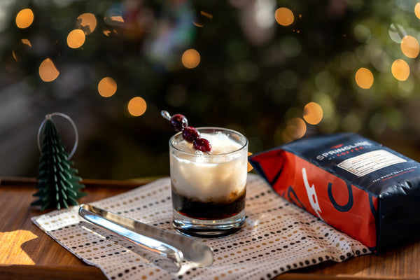 NautiCoffee Cocktail Series: Holiday Stroll White Russian