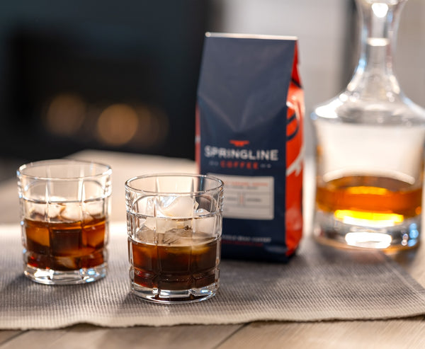 NautiCoffee Cocktail Series: Springline Old Fashioned