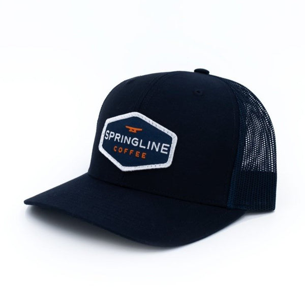 The Springline Signature Hat - Navy Blue