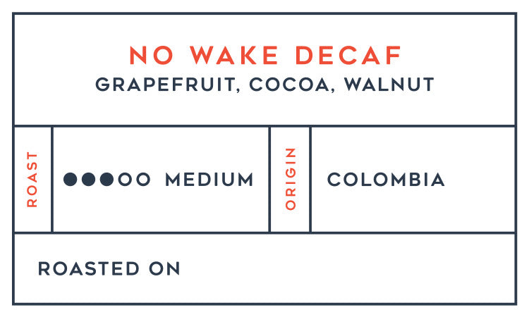 No Wake Decaf 6-Month Subscription