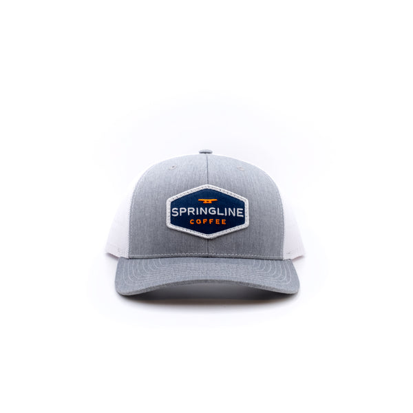 Springline Coffee & Signature Gray Hat Gift Set