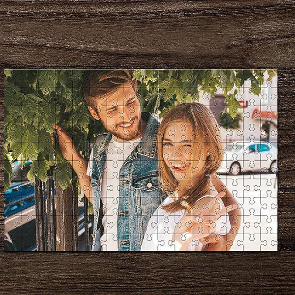 Custom Photo Jigsaw Puzzle Gift For Love U 35-1000 Piece Jigsaw