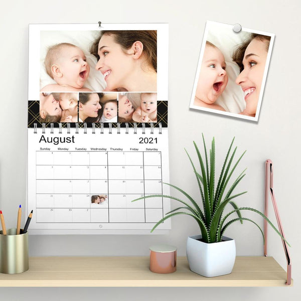 Custom Wall Calendar Photo Calendar  Gift Lovely Kids