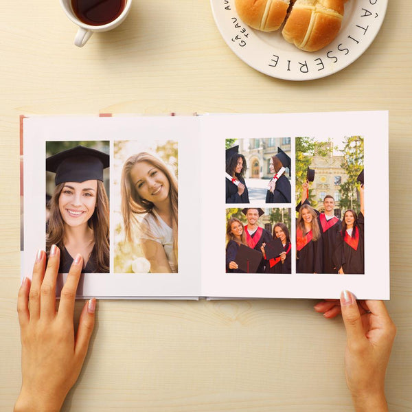 Custom Photo Book for Graduation Online Square Book