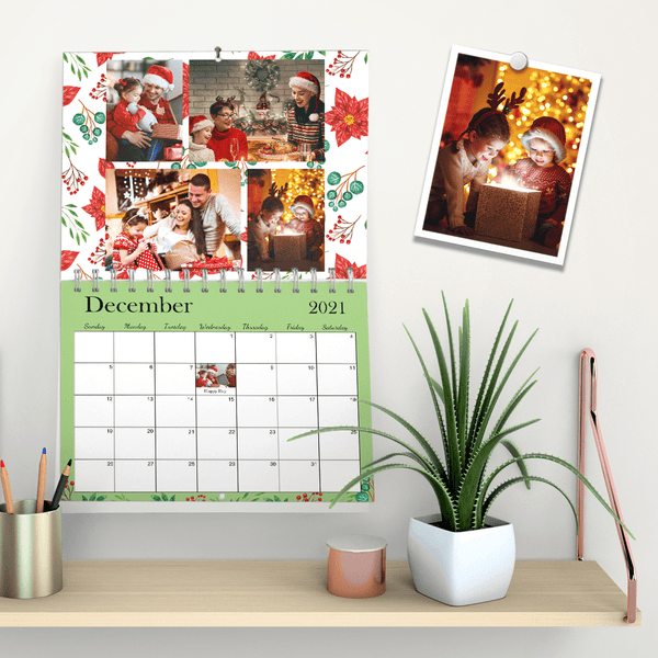 Custom Wall Calendar New Year Calendar for Christmas