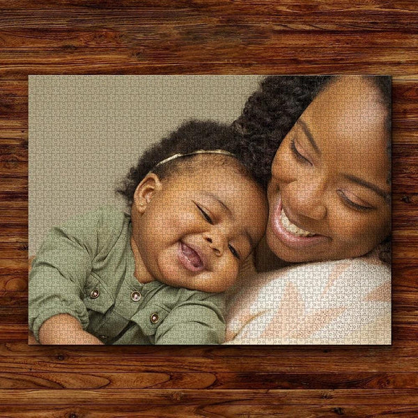 Custom Jigsaw Puzzle Gift for Mom 35-1000pcs