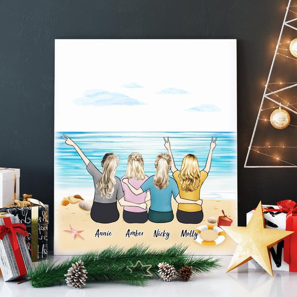Graduation Gift Create Your Own Canvas Best Friend Gift 8x10 inch