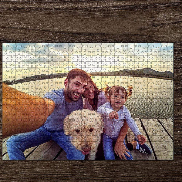 Custom Photo Jigsaw Puzzle Family Gift 35-1000 Piece Jigsaw