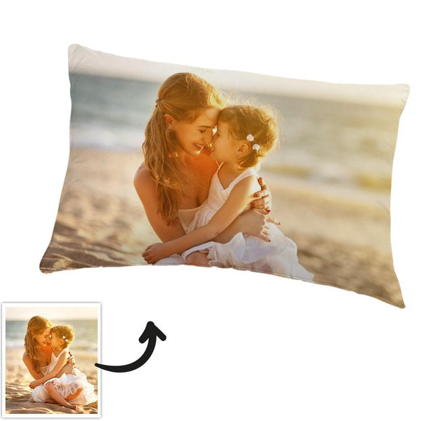 Photo Pillow Case Bedding Set Gift For Mom