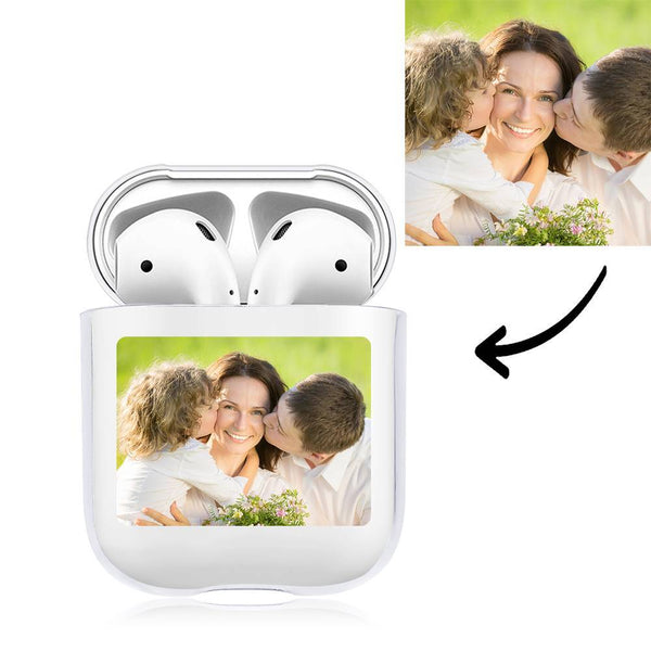 Photo Earphone Case for AirPods Family Gift - Transparent