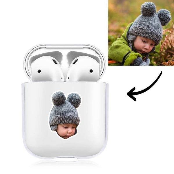 Custom Photo Earphone Case for AirPods Baby Transparent - Avatar