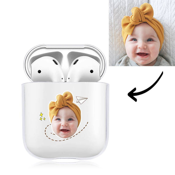 Custom Photo Earphone Case for AirPods Always Love You Baby Transparent - Avatar