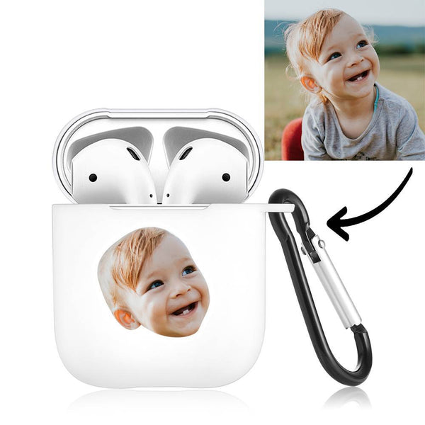 Custom Photo Earphone Case for AirPods Baby White, Earphone Cover Protective Cover - Avatar