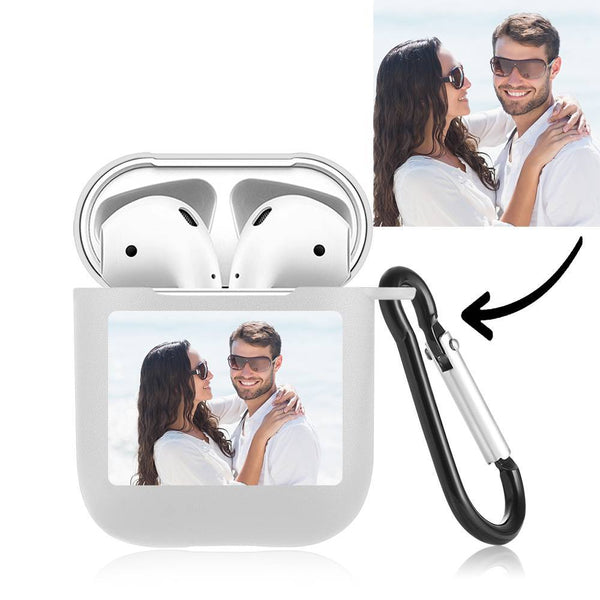 Custom Photo Airpods Case Earphone Case Transparent