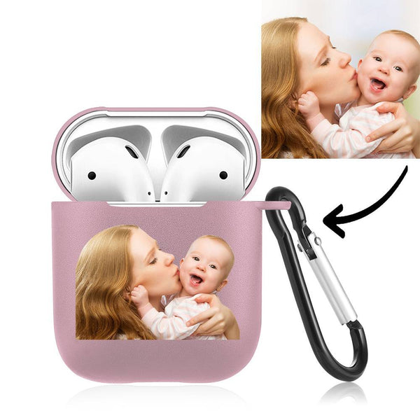 Custom Photo Airpods Case Earphone Case Pink - Avatar