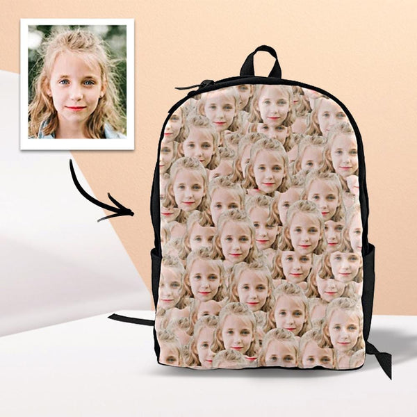 Personalized Backpack With Face First Day Of School Gifts