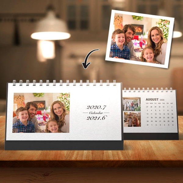 Custom Photo Desk Calendars for Family 6*11inch