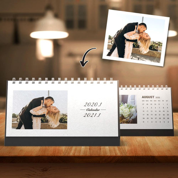 Custom Photo Classic Calendars Desk Calendars for Lover