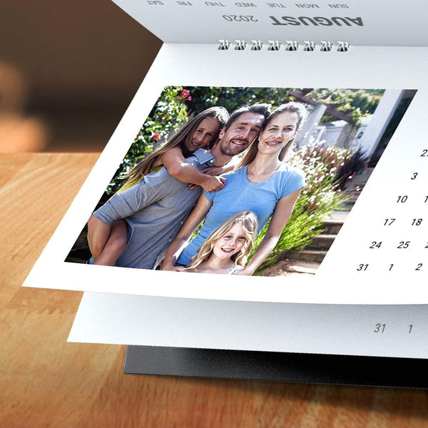 Custom Photo Desk Classic Calendars Family Gift 6*11inch