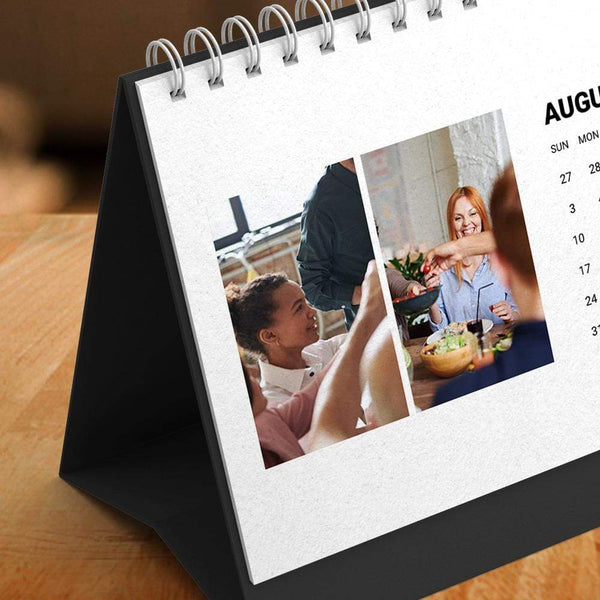 Custom Classic Photo Desk Calendars 6*11inch