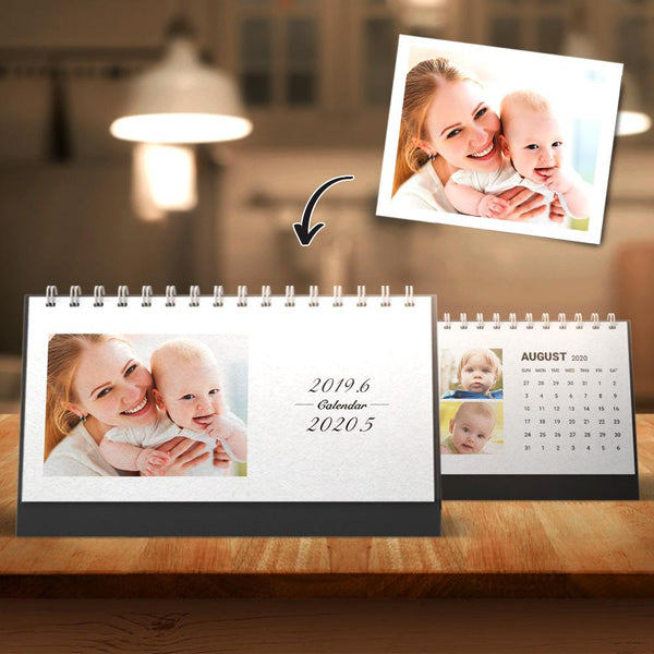 Custom Desk Calendars Photo Calendars Yearly Gift For Mother