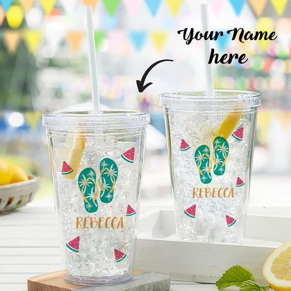 Custom Text Sippy Cup For Personalized Water Cup For Plastic Cup