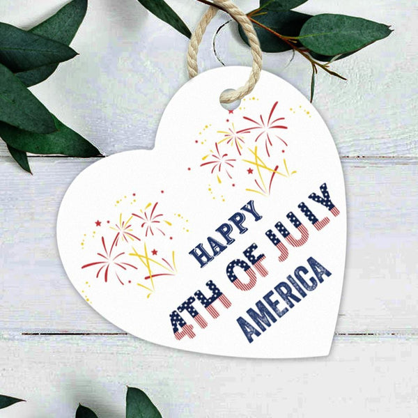Custom Ornament Text Ornament Independence Day