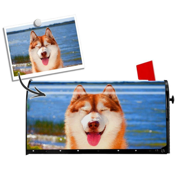Custom Mail Box Cover Photo Cover PVC Cute Pet