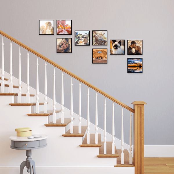 Custom Picture Tiles Home Decor Wall Art for Stairway