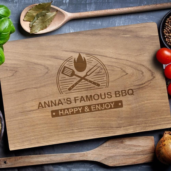 Custom Engraved Cutting Boards Kitchen Accessories No Handle