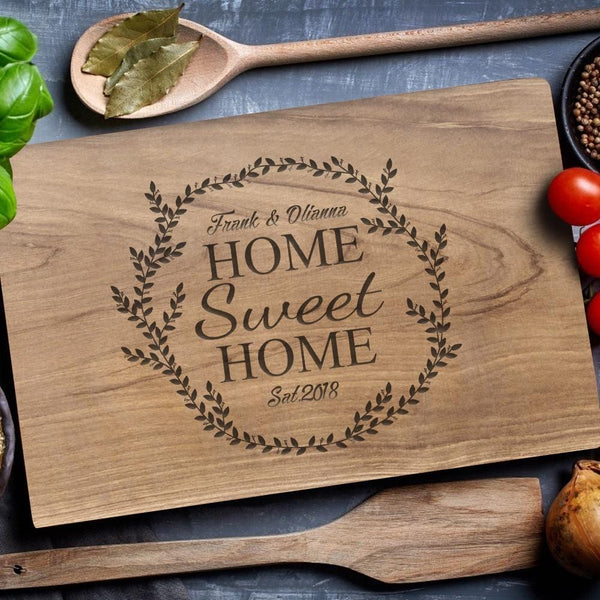 Custom Cutting Boards No Handle Gifts for Kitchen