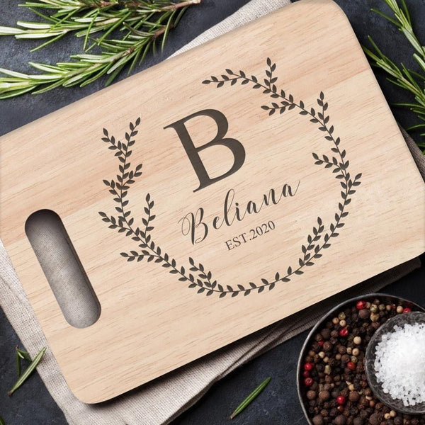 Personalized Cutting Boards With Handle Creative Home Gifts