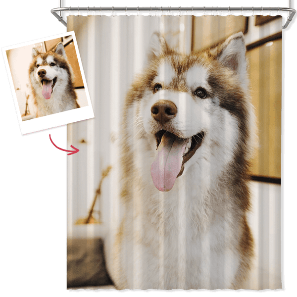 Custom Photo Shower Curtain Unique Gift Waterproof Shower Curtain