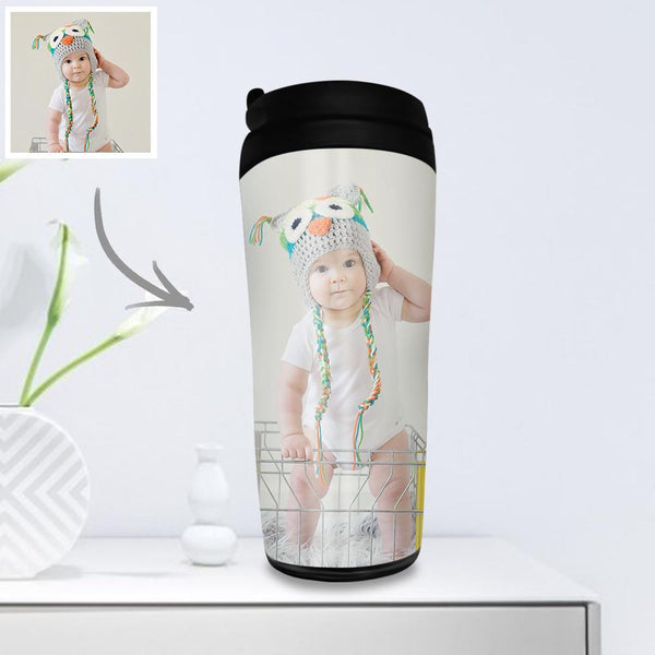 Custom Photo Coffee Cup Travel Mugs Portable 350ml - for Kids